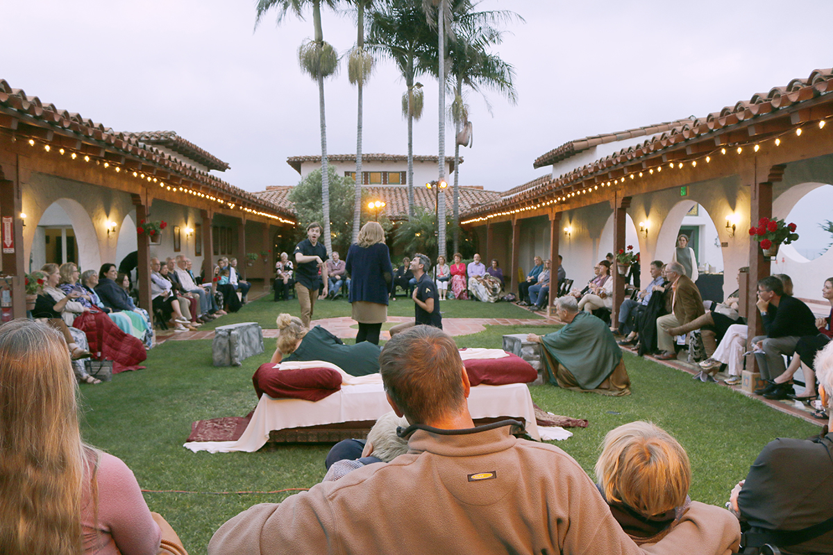 Casa Romantica Presents Live Tango, Opera, & Shakespeare In Their Seaside Gardens
