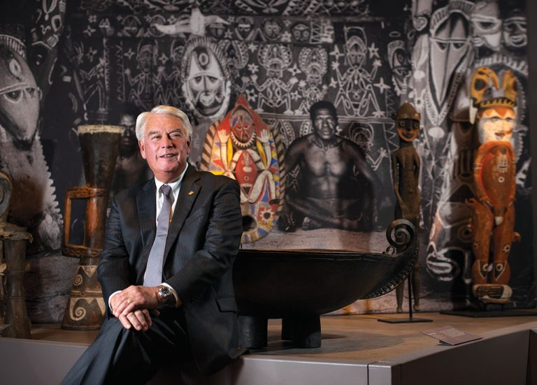 Peter Keller Has Led Bowers Museum for 30 Years