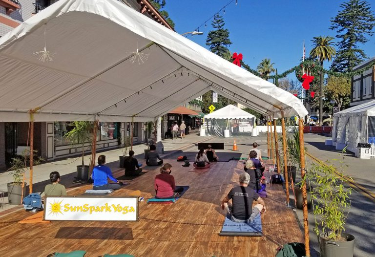 COVID-19 Anniversary: Outdoor Fitness with SunSpark Yoga
