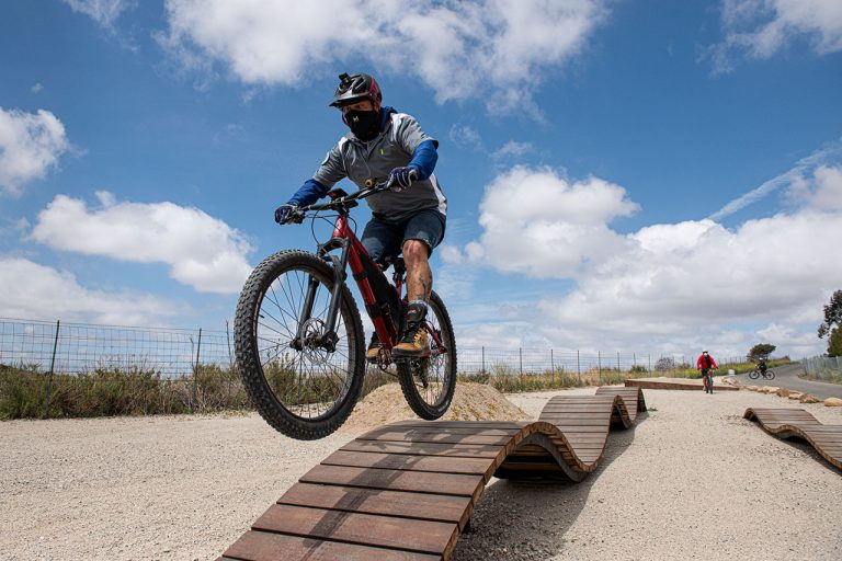 Learn to Mountain Bike with Irvine Ranch Conservancy's New Skills Course