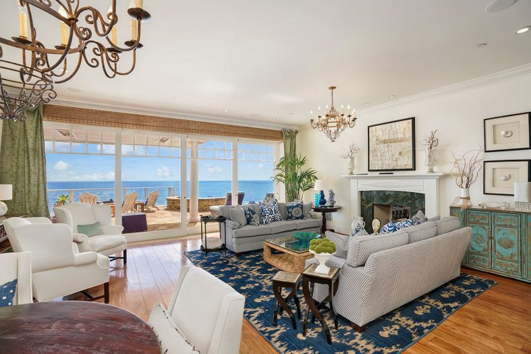 On The Market: A Dana Point Property With Ocean Views and a Dedicated Art Room