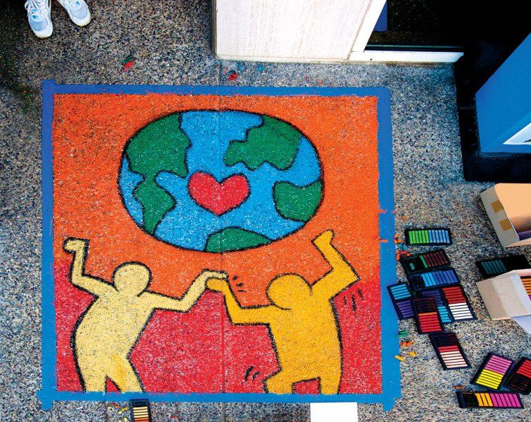 Lifting Spirits: Artists Lend Hands to Offer Hope Around O.C.
