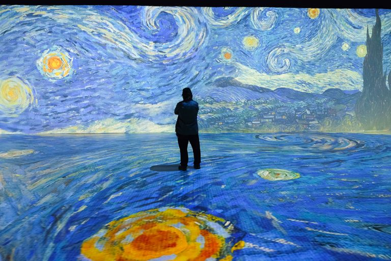 Q&A With the Creative Director of Anaheim's Beyond Van Gogh: The Immersive Experience