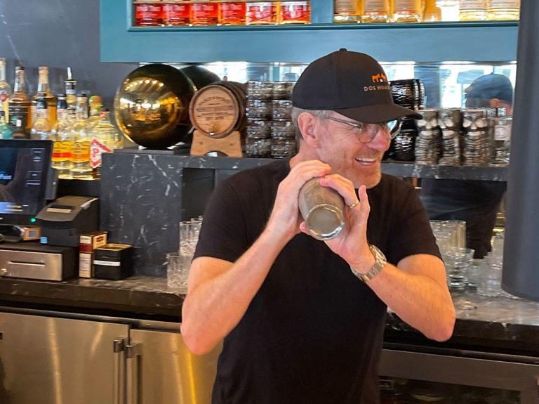 Photos: 'Breaking Bad' Star Bryan Cranston Behind the Bar at Fable & Spirit