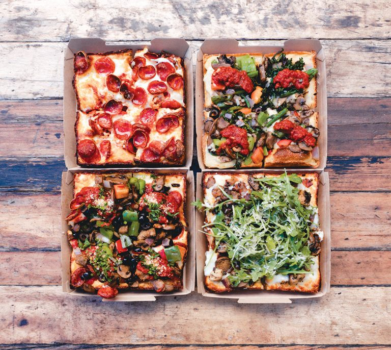 4 Great Spots for Detroit Pizzas in Orange County