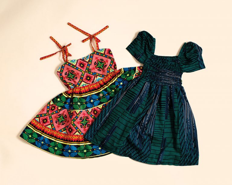 Colorful Girls' Dresses from Anaheim-Based Elisamama