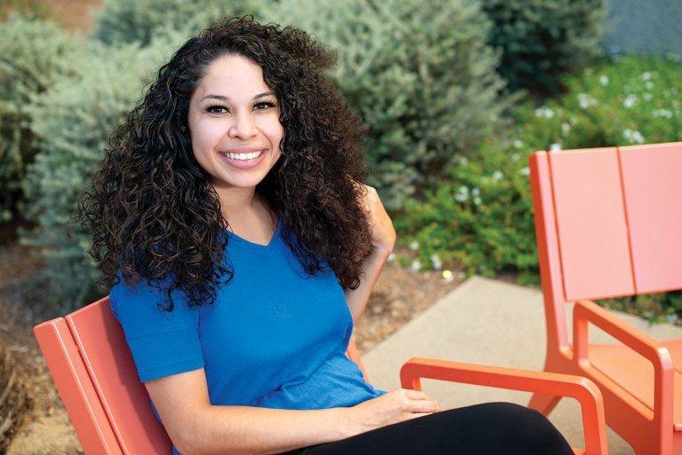 Cal State Fullerton Graduate and Foster Youth Advocate Junely Merwin